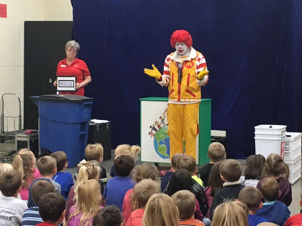 Ronald McDonald Visited Glenwood!
