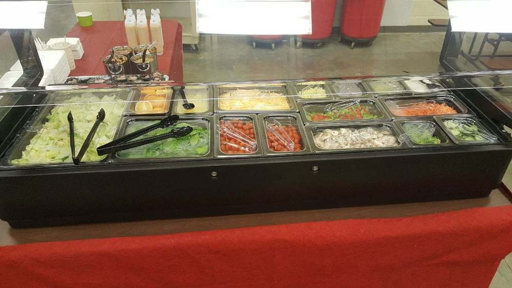 Glenwood School Salad Bar