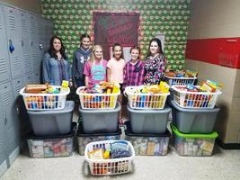 Glenwood School Food Drive