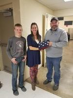 Glenwood Receives New Flags