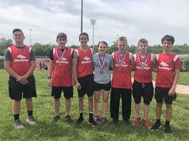 Ozark Conference Middle School Conference Track Meet