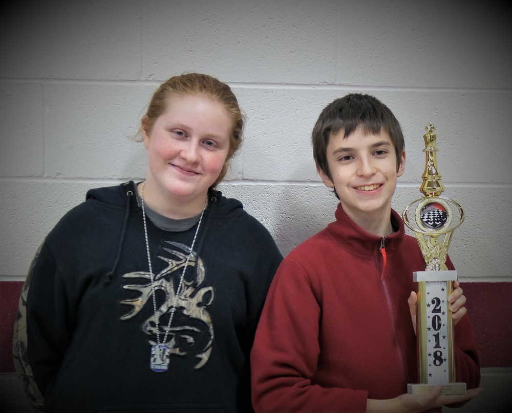 Sally Hatton Memorial Chess Tournament Results Nov 2018