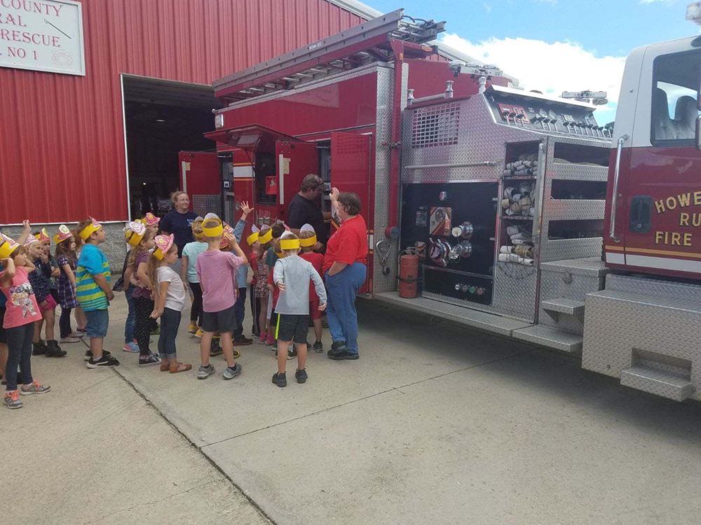 Grades K-4 Visit the Howell County Rural Fire Department October 2018