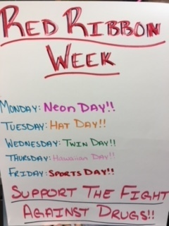 Red Ribbon Week poster