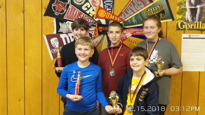Glenwood Knights chess team