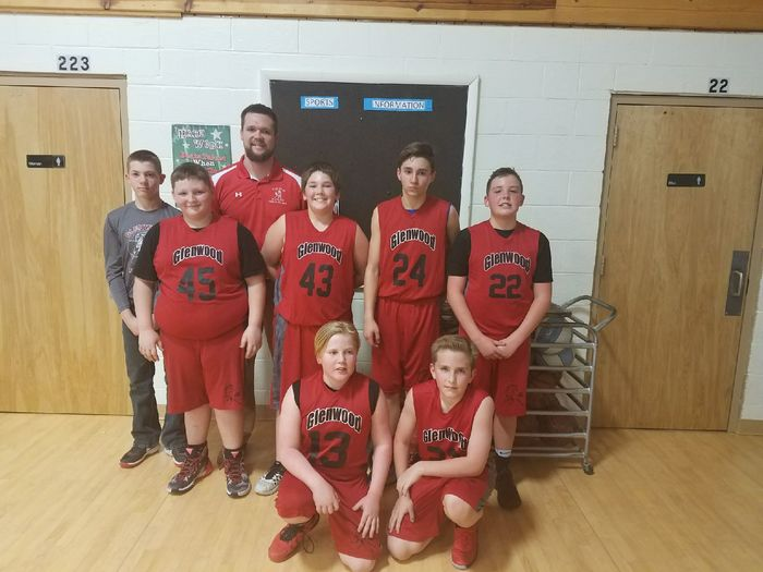6th grade boys Pee Wee team 2018