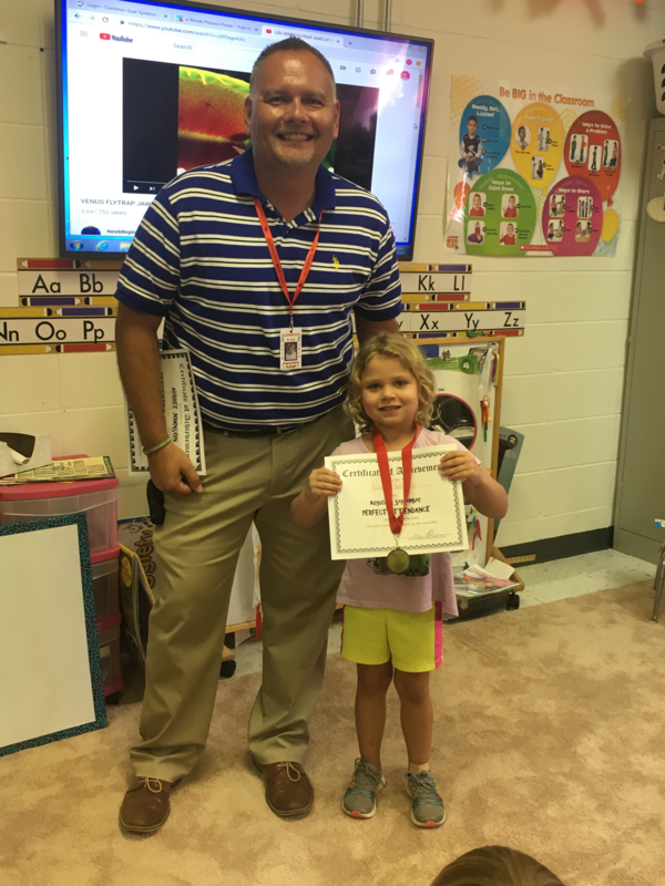 Awards for Pre-School - 2nd grade